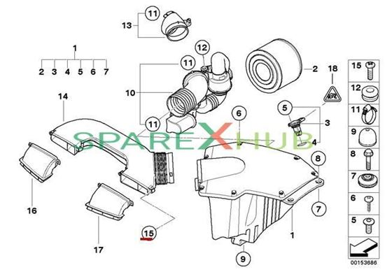 Picture of Torx Bolt For Plastic Material