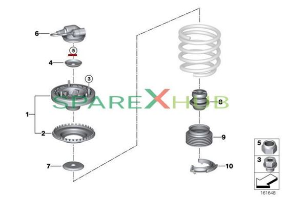 Picture of Self Locking Hex Nut