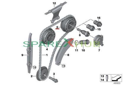 Picture of Adjustment unit, outlet camshaft