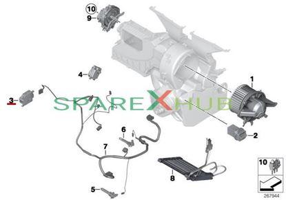 Picture of Actuator, fresh air recirculation