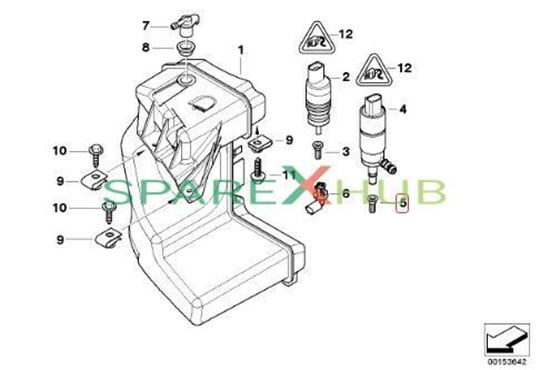 Picture of Strainer F Wash Pump