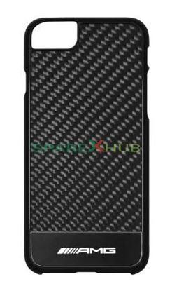 Picture of AMG Case For Iphone 7 Black / Silver Coloured / Carbon, Plastic / Aluminium