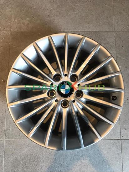 """Picture of Used Genuine, Set BMW Disc Wheel Light Alloy, Reflex Silber 17"""" Rims"""