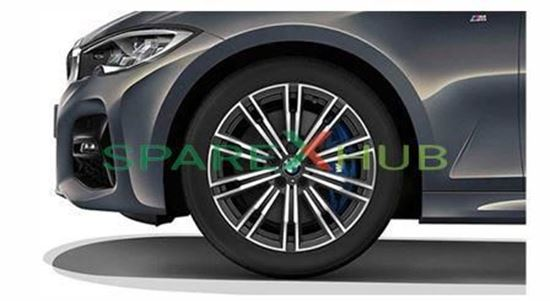 "Picture of Used Genuine BMW Double Spoke 790M-18"" Orbitgrey Wheel Set"