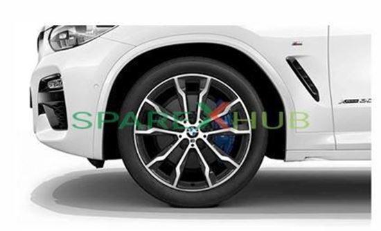 "Picture of New Genuine BMW Double Spoke 699M-20""- Orbitgrey Wheel Set"