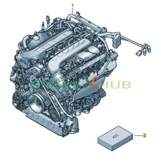 Picture of PARTS SET FOR ENGINE AND