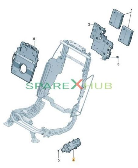 Picture of SWITCH FOR SEAT ADJUSTMEN