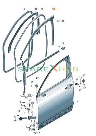 Picture of WINDOW GUIDE WITH WINDOW